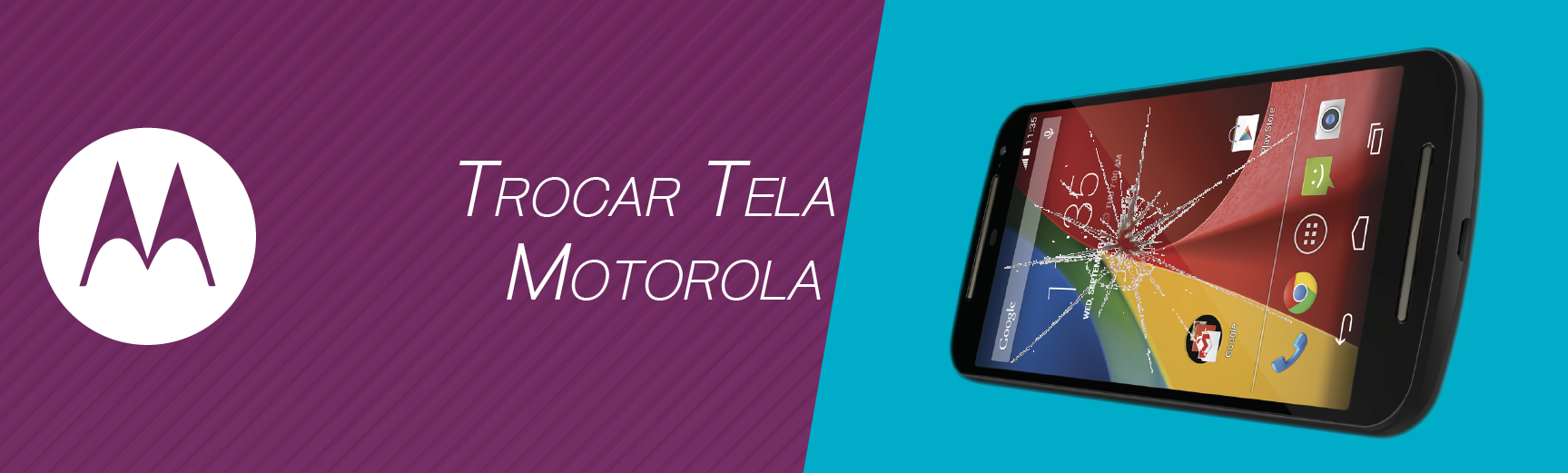Trocar Tela Motorola