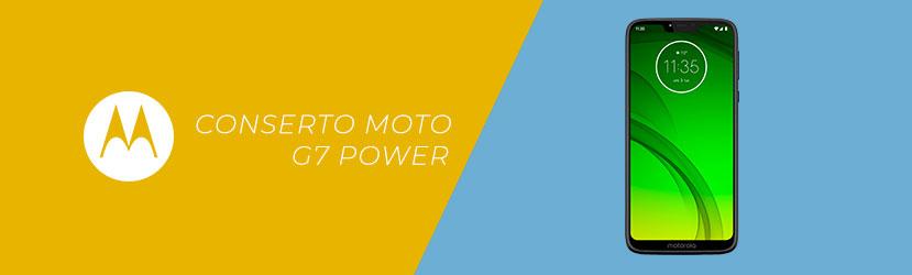 Conserto Moto G7 Power