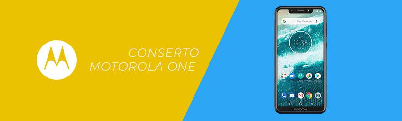 Conserto Motorola One